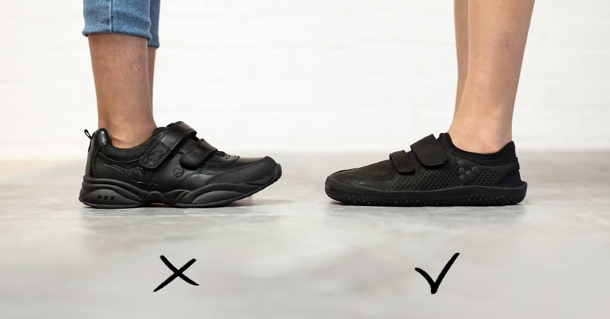 6cda6b27 Du kan faktisk ikke se stortærne på dette bildet - men det som skjer med  tærne i disse skoene er SUPERVIKTIG. Stortærne er små men mektige: de er  ankere for ...